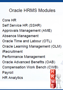 ACT Oracle HRMS