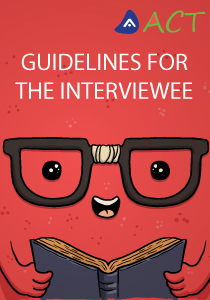 Guidelines for the interviewee