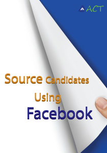 Source Candidates using Face Book